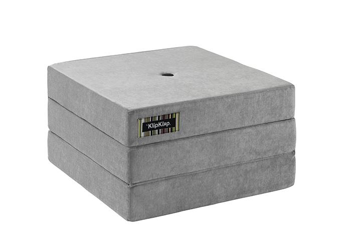 fa7894c7cc3 KK 3 Fold Single Velvet Argent Grey w Dark Grey Buttons – DESIGNERSHIP